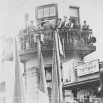 Генерал-чотар В.Курманович на балконі 19 лютого 1939