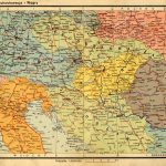 Угорщина і Чехословаччина.Атлас Ромера, 1937 рік