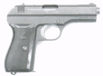 Самозарядний 7,65 мм пістолет С2 зразка 1927 р