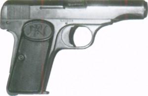 Самозарядний бельгійський пістолет Браунінга моделі 1910 р