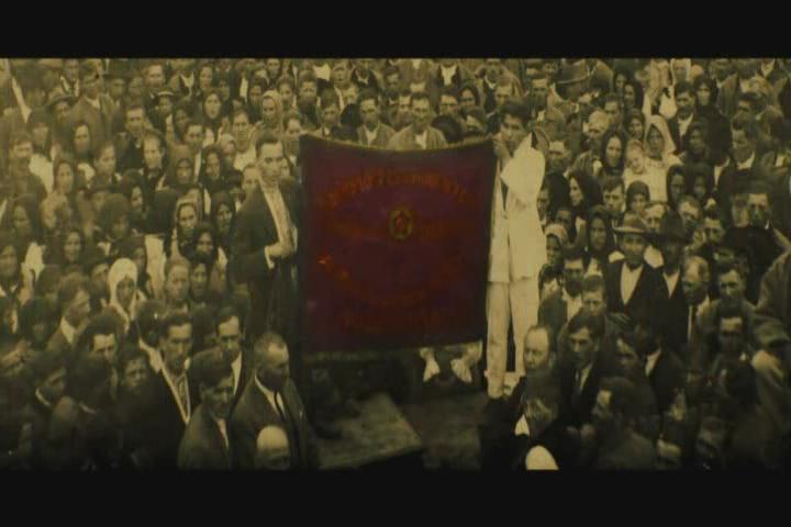 Комуністична демонстрація в Хусті, 1 травня 1929 р.