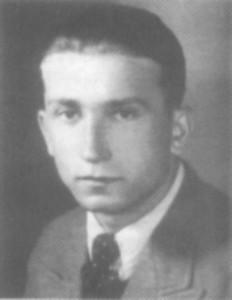 Іван Стебельський — комендант січового гарнізону в с. Прислоп Волівського округу. Фото 1940 р.