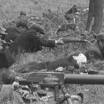 Реконструкція Кулеметна ланка Карпатської Січі. Квітень1939 р. Словаччина.