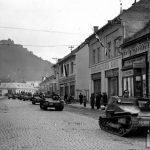 Мадярські танкетки в Хусті, березень 1939