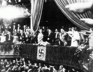 Гітлер і Горті на зустрічі 25 серпня 1938 р.
