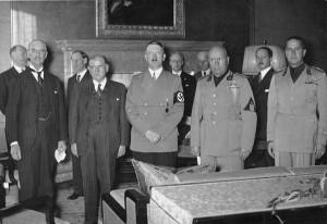 Учасники Мюнхенської конференції 29-30 вересня 1938 р.