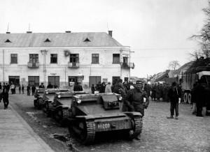 Угорці у Хусті 16-18 березня 1939 р.
