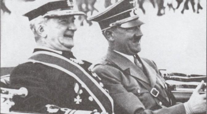 Міклош Горті та Адольф Гітлер