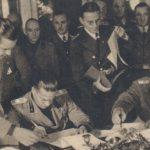 Під час підписання документів першого Віденського арбітражу