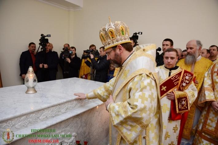 Промова Блаженнішого Святослава під час перепоховання Владики Маргітича