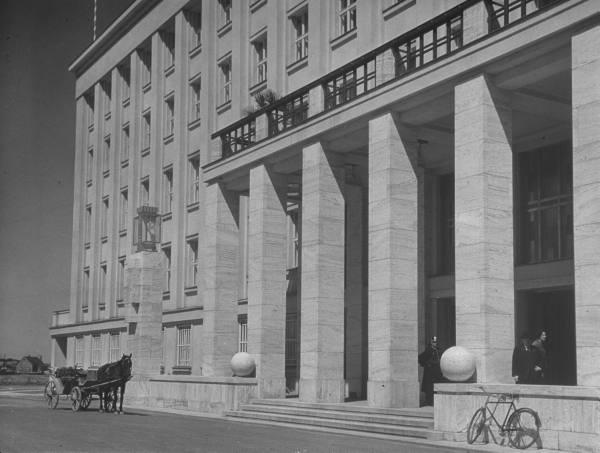 Будівля губернського правління, де засідав автономний уряд Підкарпатської Русі в Ужгороді