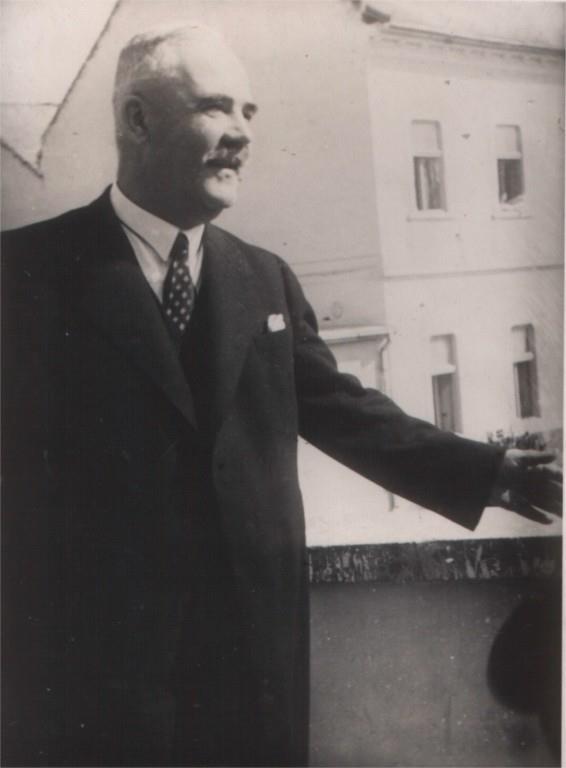 Едмунд Бачинський, міністр внутрішніх справ автономного уряду Підкарпатської Русі (11 жовтня – 1 грудня 1938 року).