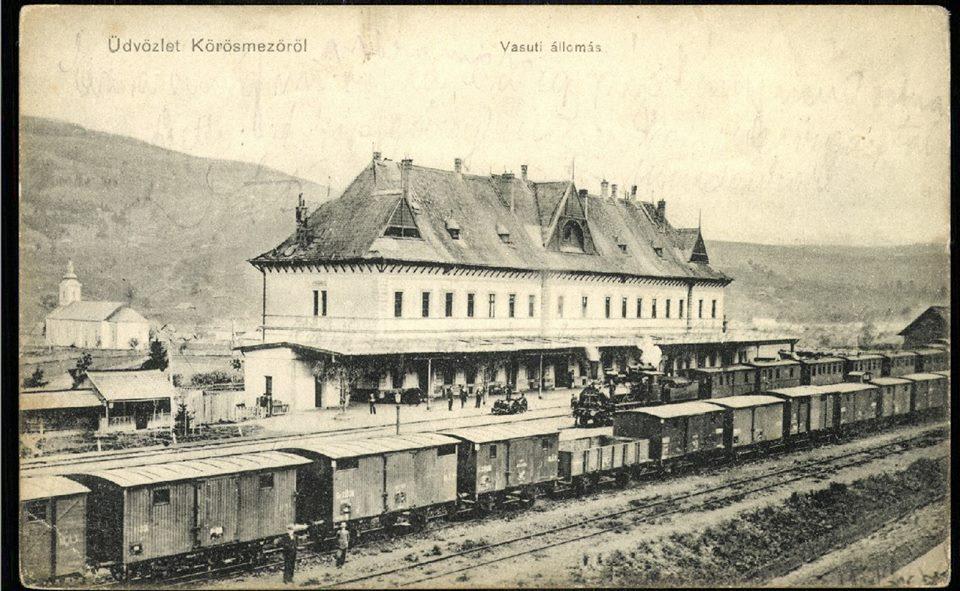 Залізнична станція в Ясіні, де 8 січня 1919-го гуцульські добровольці на чолі зі Степаном Клочураком роззброїли угорську залогу