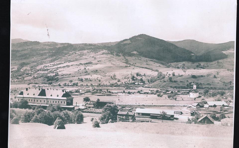 Селище Ясіня, у січні – червні 1919-го – столиця Гуцульської республіки. Фото початку ХХ ст.