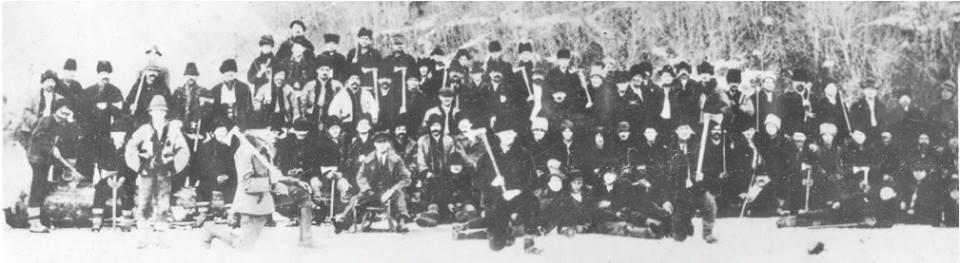 Гуцульські добровольці, учасники походу на Мараморош-Сигіт 12–17 січня 1919-го.
