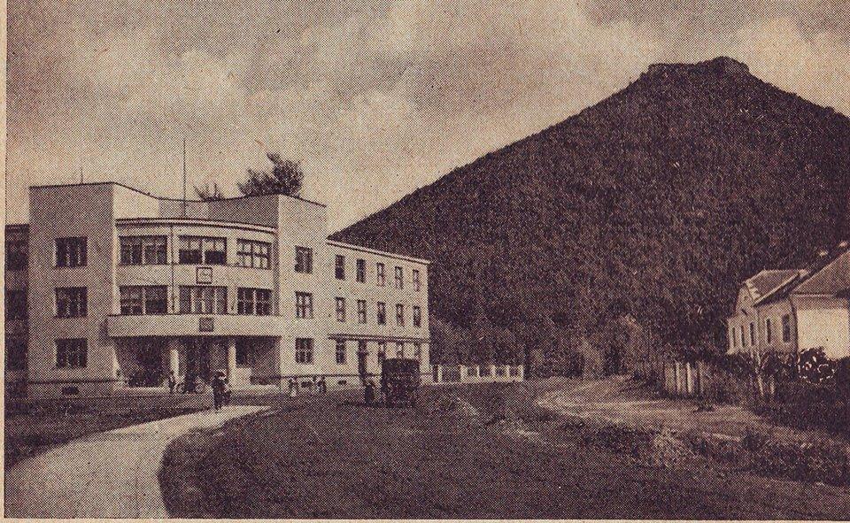 Будівля в Хусті, де засідав уряд Карпатської України. 1938 рік