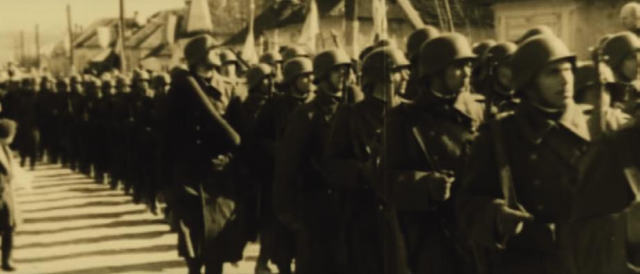 Вступ угорських військ у Мукачево. Листопад 1938-го