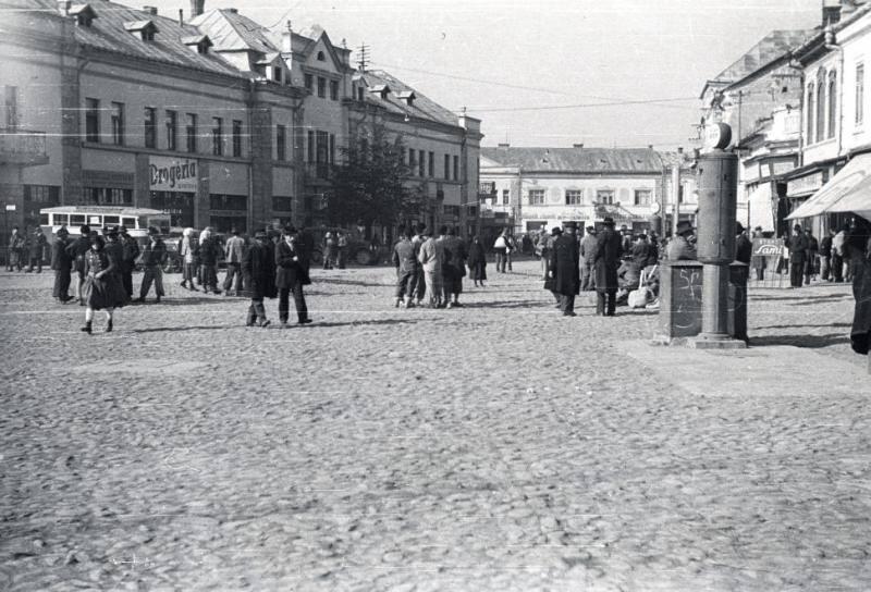 У Хусті, 1939