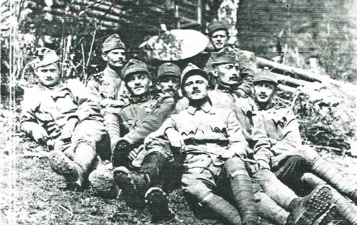 Четар Северин Левицький: Спогади про УСС, 1914-1918