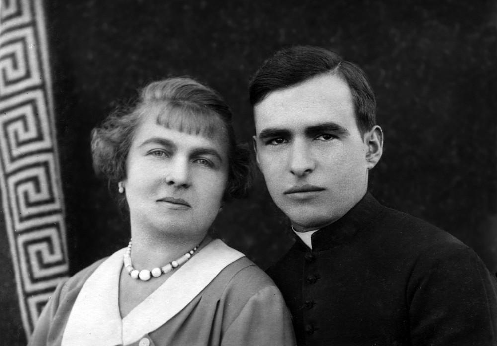 Молоде подружжя - Маргарета Шелестай та Юрій Станинець