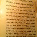 Протокол допиту затриманого польського терориста Рудольфа Гавелки