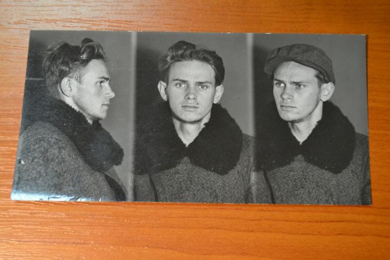 Полонений польський терорист Рудольф Собош. Військово-історичний архів Чеської Республіки