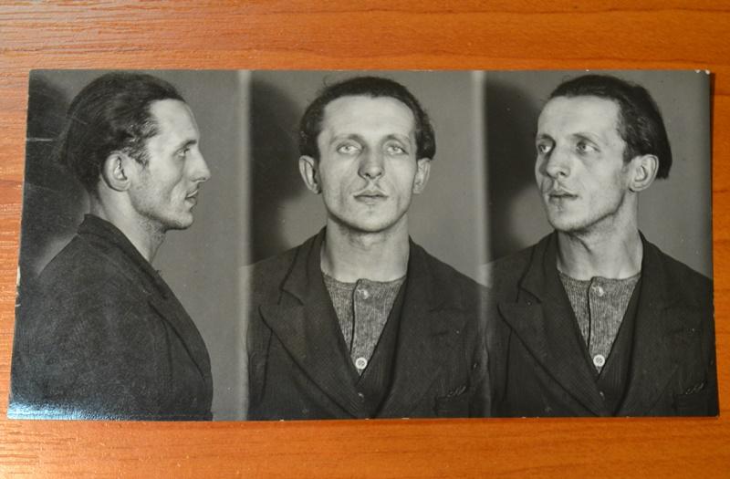 Полонений польський терорист Рудольф Гавелка. Військово-історичний архів Чеської Республіки