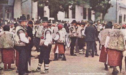 Ясіня на шпальтах часопису National Geographic 1938 року
