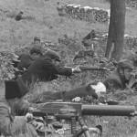 Реконструкція Кулеметна ланка Карпатської Січі. Квітень1939 р. Словаччина