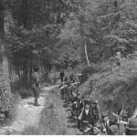 Реконструкція. Колона озброєних січовиків. Квітень 1939 р. Словаччина