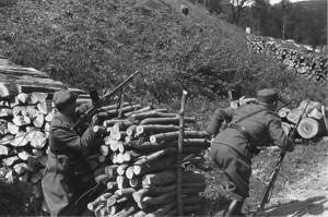Реконструкція. Наступ з оборонної позиції. Квітень 1939 р. Словаччина