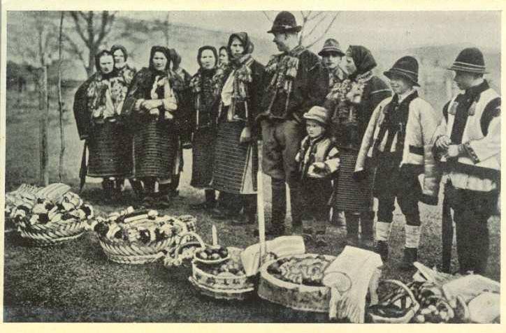 Закарпатці на листівках чехословацької доби
