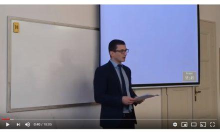 Олександр Пагіря: Українське питання в політиці Другої Чехословацької Респубілки (1938 – 1939 рр.)