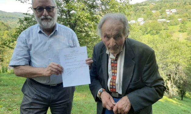 90-річний Іван Мирон остаточно реабілітований за новим законом