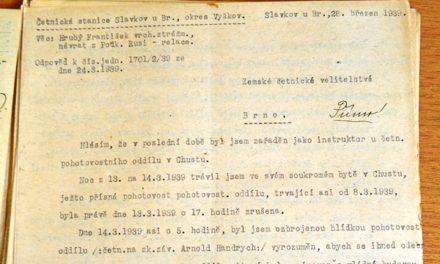 Свідчення жандарма Франтішека Грубого, 28 березня 1939